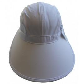 90711b60a9c43e Cushees Ladies Scoop Bonnet - White - Th40 - Tennis Apparel & Accessories  Caps & Hats