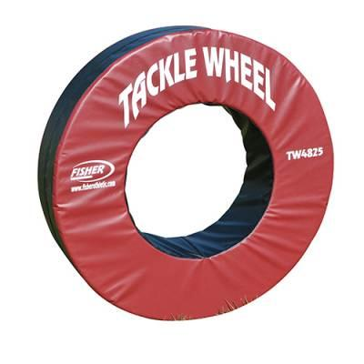"Fisher Tackle Wheel-48""od X 25""id-each - 1395043 - Collegiate Sports Ncaa College St John Fisher Sjfc Cardinals Steering Wheel Cover 1395043"