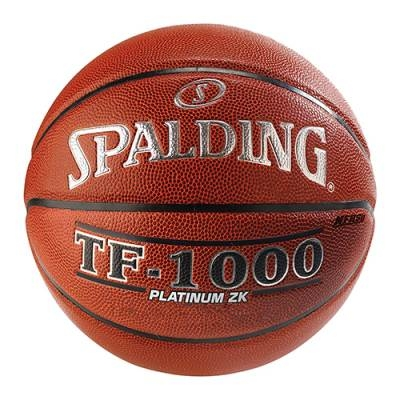 Spalding Tf-1000 Platinum Zk-official-each - 1398283 - Basketball Basketballs Balls Color Rubber Basketballs