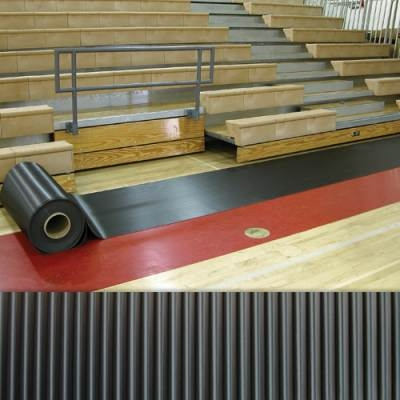Walkway Runner Mats 2'w X 105'l-black-each - 1237580 - Gymnastics Gymnastics Runner Mats 1237580