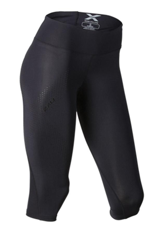 2xu Womens Mid-rise Compression 3 4 Tight - C2xwp0 - Wrestling Shorts Brief & Tights C2XWP0