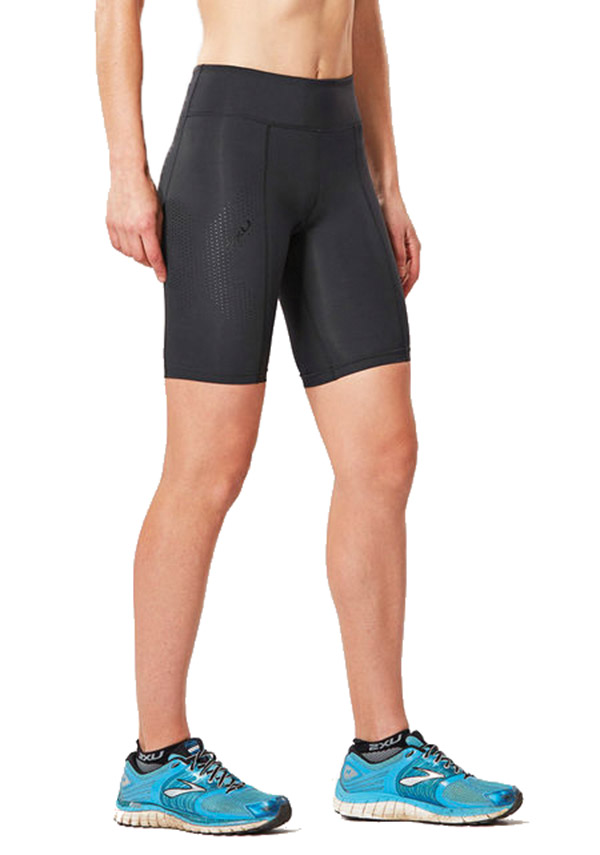 2xu Womens Mid-rise Compression Short - C2xwh0 - Athletics Tennis Training C2XWH0