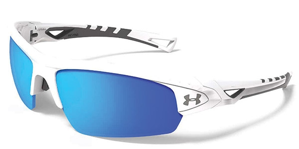 Under Armour Octane Blue Multiflection White - Suoc1 - Athletics Racquetball & Squash Eyewear >under Armour SUOC1