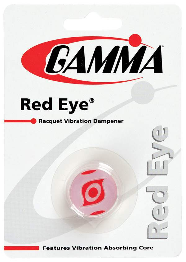 Gamma Red Eye Dampener 1x - Qgre - Tennis Vibration Dampeners QGRE