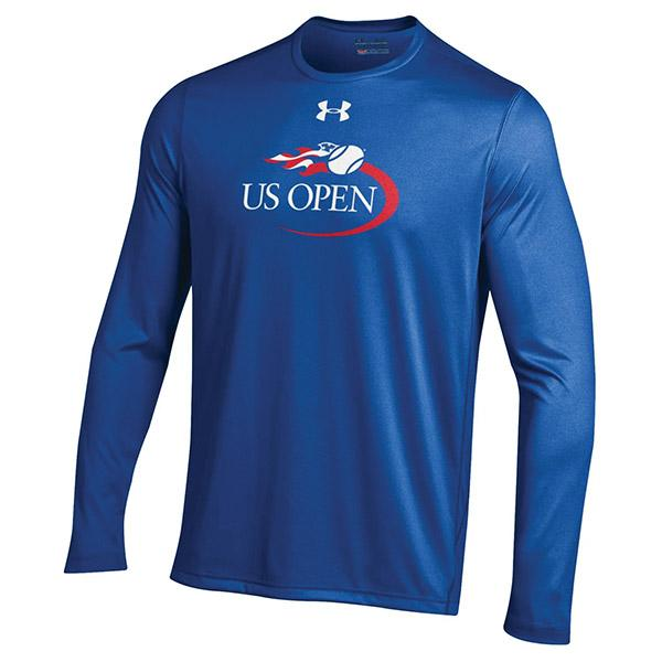 Us Open 17 Under Armour Tech L S Tee Roy - Cus869 - Clothing Outerwear Men's Apparel CUS869