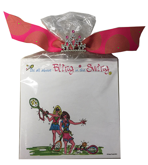 Tennis Notepads Bling In The Swing - Qnp - Toys Swings And Slides QNP