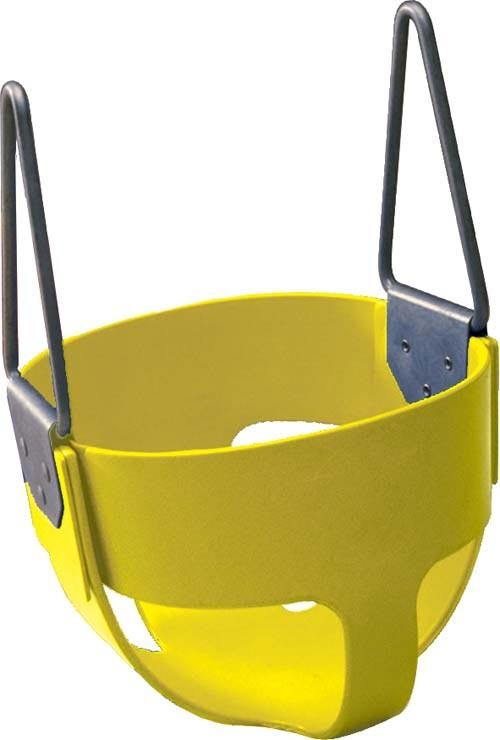 Toys Swings & Slides - Pg037p - Rubber Enclosed Infant Swing Seat - Yellow PG037P