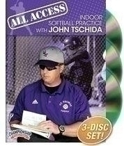 All Access Indoor Softball Practice With John Tschida - Sd-04178 - Baseball And Softball Softball Dvd And Videos Practice Dvd SD-04178