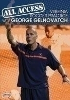 All Access Virginia Soccer Practice - Rd-03532 - Soccer Dvd RD-03532