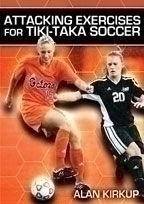Attacking Exercises For Tikitaka Soccer - Rd-04373b - Soccer Soccer Dvd And Videos Fitness Dvd RD-04373B