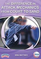Volleyball Volleyball Training Coaching Aids - Vd-04582 - The Difference In Attack Mechanics From Court To Sand VD-04582