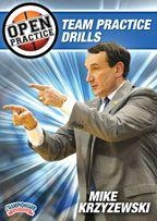 Open Practice: Team Practice Drills - Bd-04720a - Basketball Dvd BD-04720A