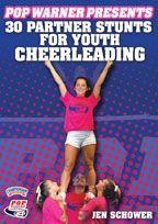 Pop Warner Presents 30 Partner Stunts For Youth Cheerleading - Chd-03334 - Cheerleading Cheerleading Dvd And Videos Fitness Dvd CHD-03334