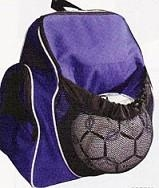 Soccer Mls Soccer Sporting Kansas City Balls - Bbp726 - Backpack With Ball Pouch BBP726