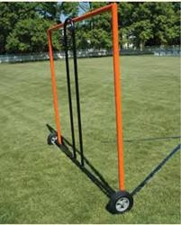 Portable Lacrosse Goal Cart With Wheels - Lxgc6 - Soccer Soccer Goals Portable Training Goals LXGC6