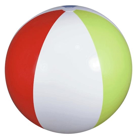 Beach Ball 24'' Dia - 3254 - Water Sports Beach Balls 3254