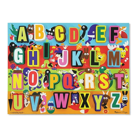 Toys Puzzles - 42811 - Chunky Puzzles Abc's 42811