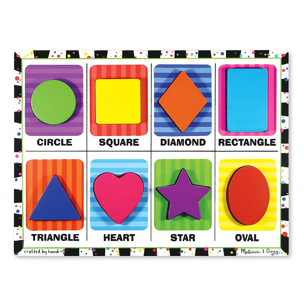 Toys Puzzles - 42812 - Chunky Puzzles Shapes 42812