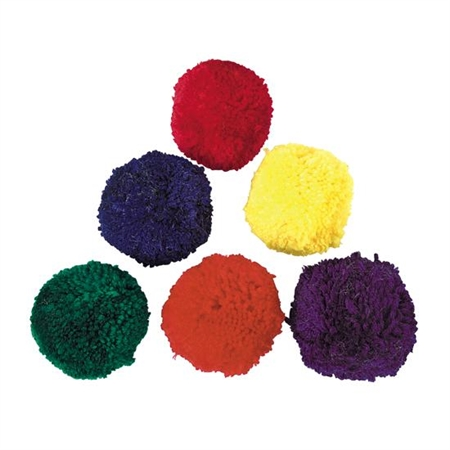 Colored Fleece Ball Set 4 Inch - 15217 - Water Sports Aquatic Ball Sports Surface Canoe Polo 15217
