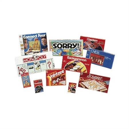 Flaghouse Board Game Set - 7271 - Games Scrabble 7271