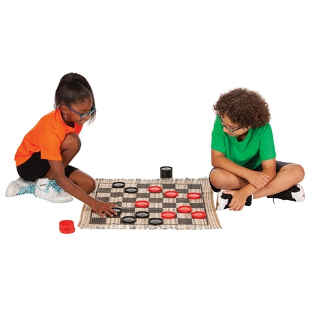 Outdoor Recreation Strategy Board Games Checkers - 20431 - Jumbo Checkers 20431