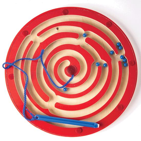 Magnetic Circle Express Maze - 37724 - Toys Magnetic Apple Maze Play Board Magnetic Builders 37724