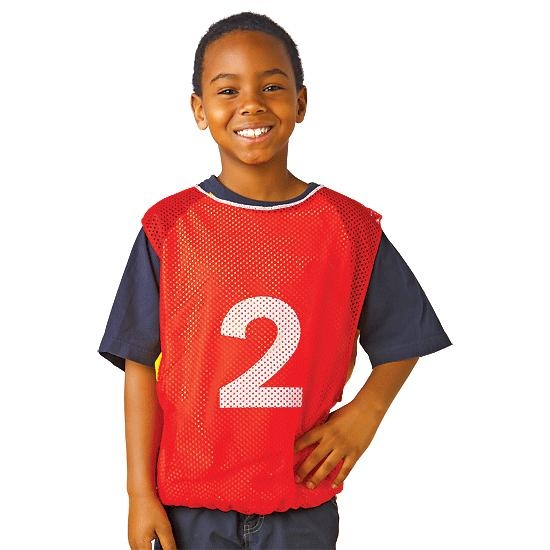 Toys Building Sets Building Sets & Equipment - 15900-blu - Numbered Adult Size Intramural Vests Set Of 15 15900-BLU