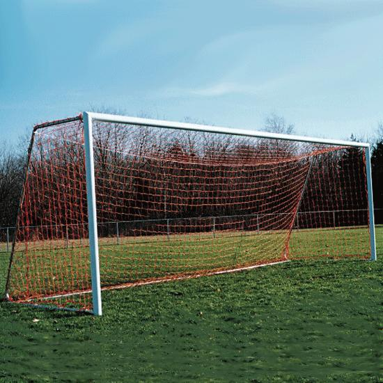 Soccer Goals Official Portable 4'' X 4'' Round Post Goals - 15229 - Soccer Soccer Goals Official Size Soccer Goals 15229