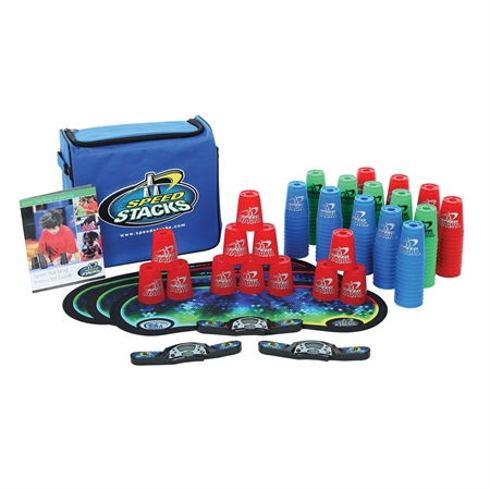 Speed Stacks Sport Pack Of 15 Sets - 18729 - Soccer Colored Soccer Ball Packs 18729