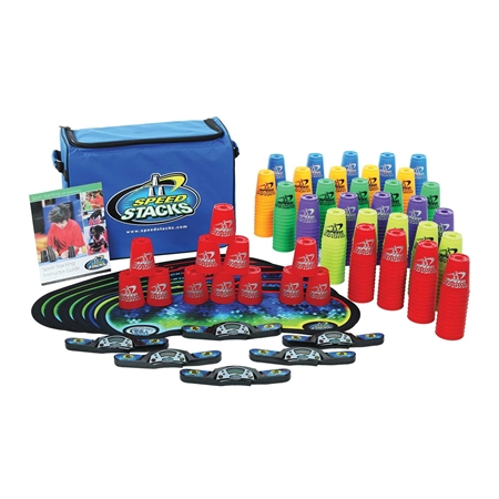 Speed Stacks Sport Pack Of 30 Sets - 18728 - Soccer Colored Soccer Ball Packs 18728
