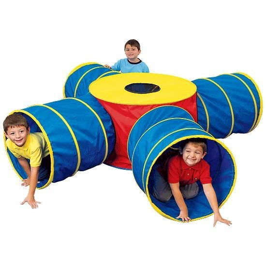 Games Play Tunnels - 38656 - Tunnels Of Fun Jumbo Junction Set 38656