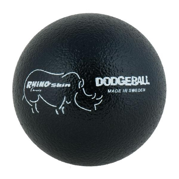 Physical Education Dodgeballs - Rxd6 - 6 Inch Rhino Skin Dodgeball Black RXD6