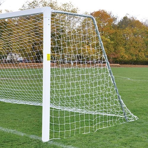 Classic Square Official Permanent/semi-permanent Soccer Goal Withstandard Backstays - Sgp-730 - Soccer Soccer Goals Official Size Soccer Goals SGP-730