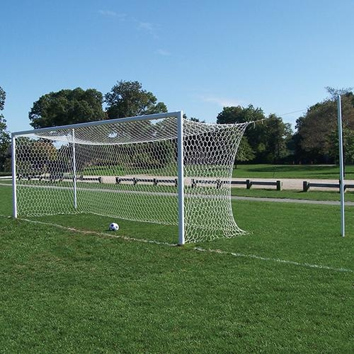 Nova World Semi-permanent Official Soccer Goal - Sgp-550 - Soccer Soccer Goals Official Size Soccer Goals SGP-550