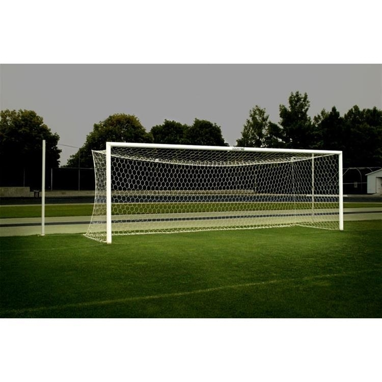 U90 World Cup Goals ; 8'x24' ; Stationary - 485200 - Soccer Soccer Goals Club Soccer Goals 485200