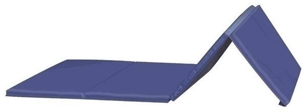 Gibson Tumbling Mat 4 Ft X 8 Ft X 1 3/8 Inch - 2 Ft Panel V4 - Ma-9248v - Athletics Tumbling Mat - 2 Inch Panel MA-9248V