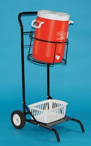 Portable Water Cooler Cart -cooler Holder Not Included - Mtc580 - Tennis Court Equipment Coolers & Accessories MTC580