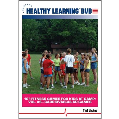 101 Fitness Games For Kids At Camp: Vol. #6-cardiovascular Games - 827008926190 - Volleyball Volleyball Dvd And Videos Fitness Dvd 827008926190