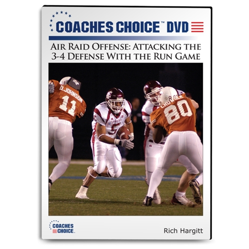 Air Raid Offense: Attacking The 3-4 Defense With The Run Game - Dvd Format - 827008300792-dvd - Baseball And Softball Baseball Dvd And Videos Offense And Defense Dvd 827008300792-DVD