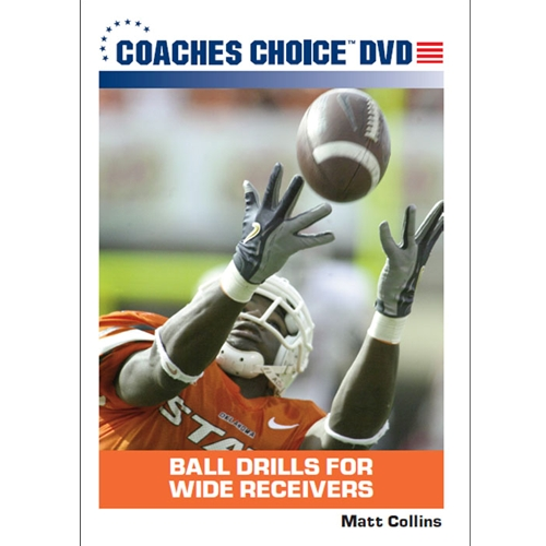 Ball Drills For Wide Receivers - Dvd Format - 827008083091-dvd - Wrestling Wrestling Dvd And Videos Practice Dvd 827008083091-DVD
