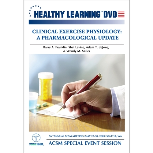 Clinical Exercise Physiology: A Pharmacological Update - Download Format - 827008005390-dow - Special Needs Children Special Needs Special Needs Social Skills Books & Videos 827008005390-DOW