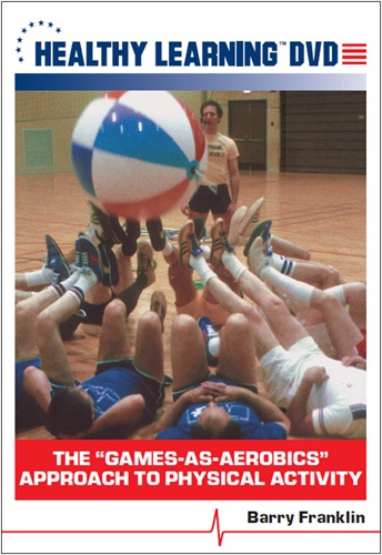 "The ""games-as-aerobics"" Approach To Physical Activity - Dvd Format - 827008030194-dvd - Toys Hands On Math Activities 827008030194-DVD"