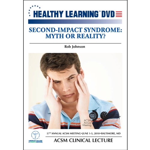 Second-impact Syndrome: Myth Or Reality? - Dvd Format - 827008035991-dvd - Hockey Dvds And Videos Practice Dvd 827008035991-DVD