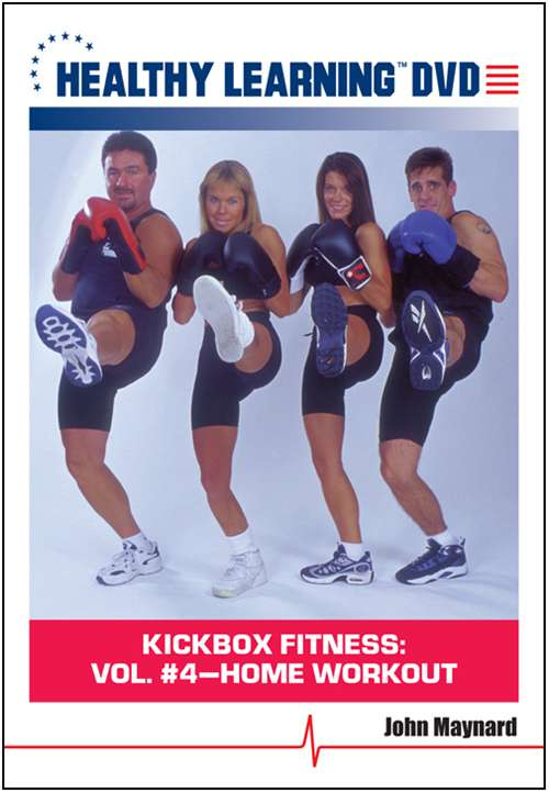 Fitness Fitness Dvd And Videos - 827008304295-dvd - Kickbox Fitness: Vol. #4-home Workout - Dvd Format 827008304295-DVD
