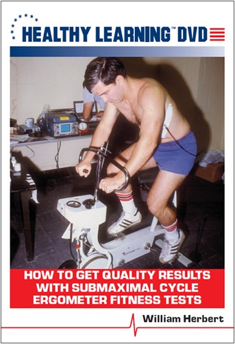 How To Get Quality Results With Submaximal Cycle Ergometer Fitness Tests - Dvd Format - 827008104994-dvd - Fitness Miscellaneous Fitness Assessment 827008104994-DVD