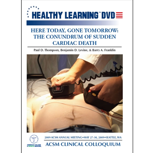 Here Today; Gone Tomorrow: The Conundrum Of Sudden Cardiac Death - Dvd Format - 827008011797-dvd - Hockey Dvds And Videos Practice Dvd 827008011797-DVD