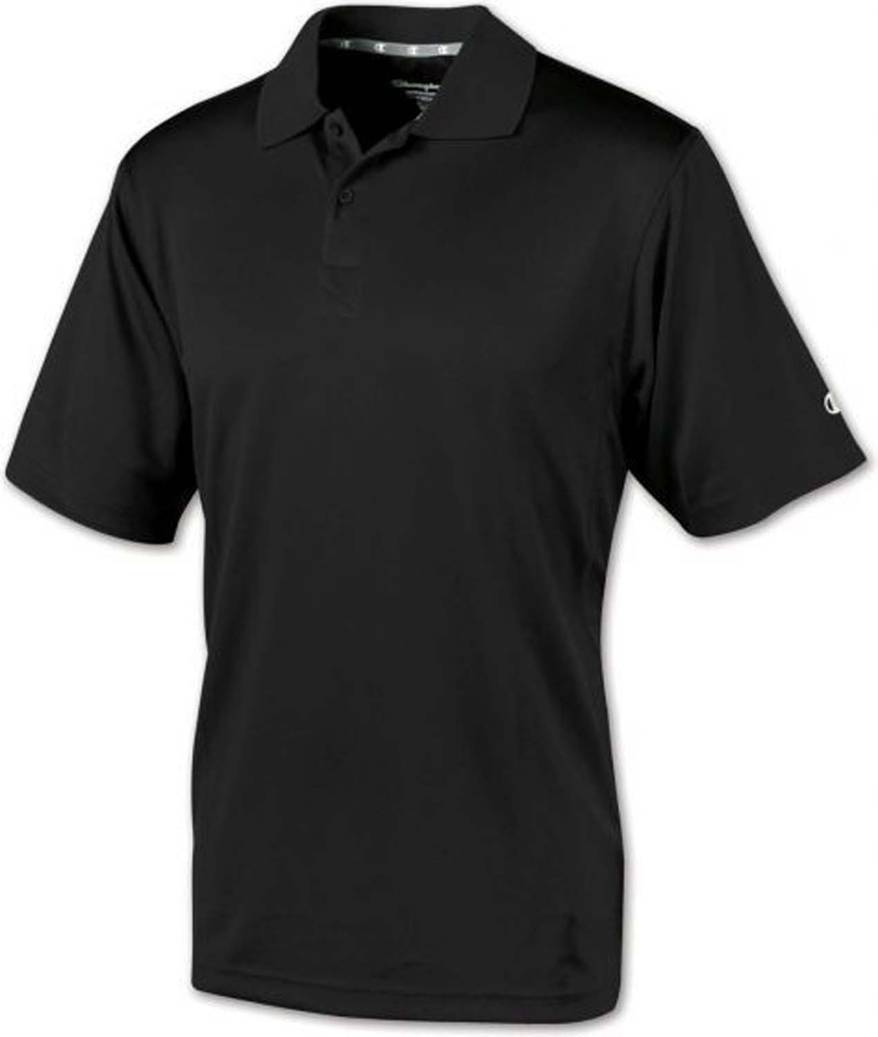 Team Sports Ultimate - 70091 - Champion Ultimate Double Dry Polo - Black-small 70091