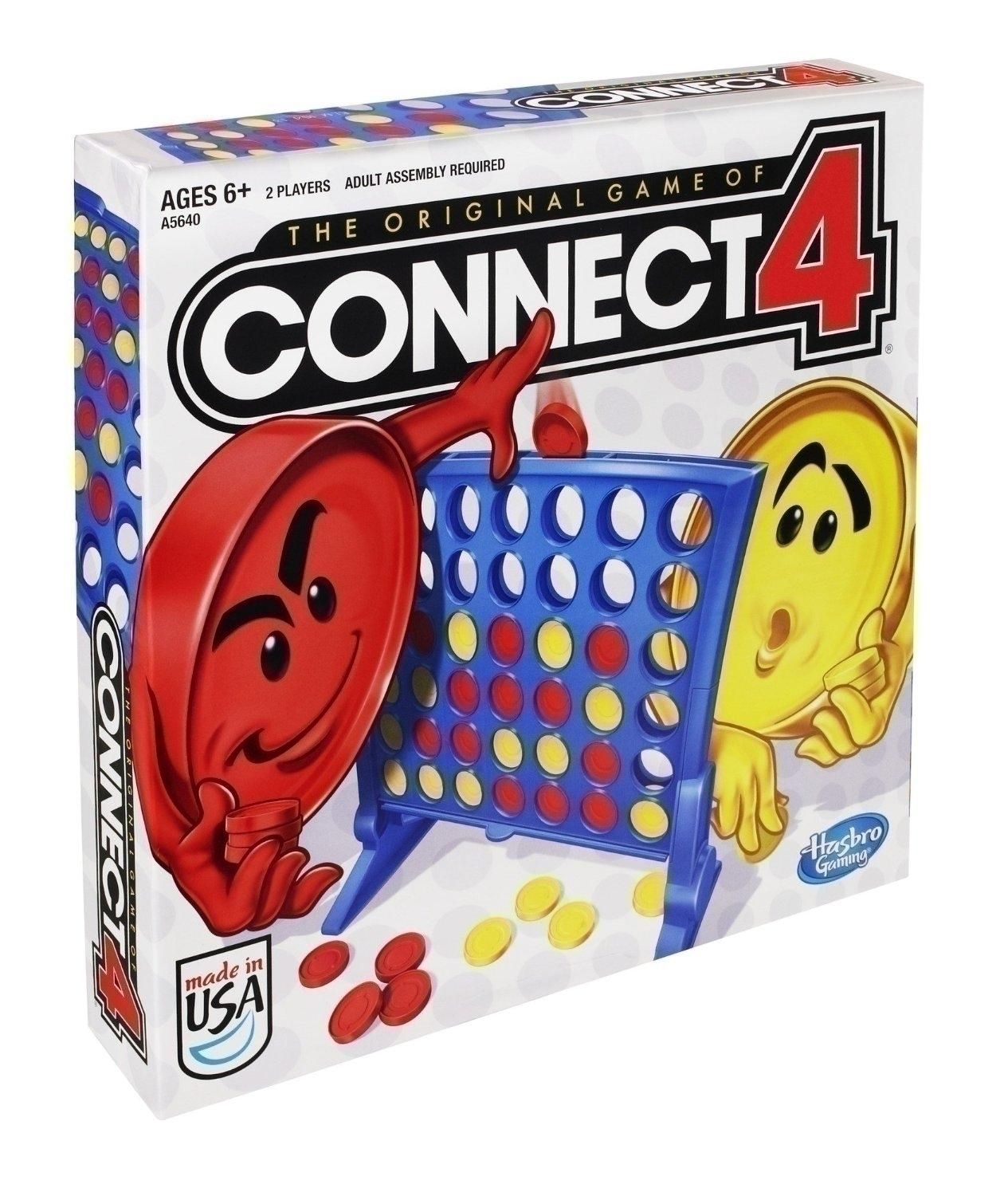 Toys Toddler Active Play - 21207 - Hasbro Connect Four Game 21207