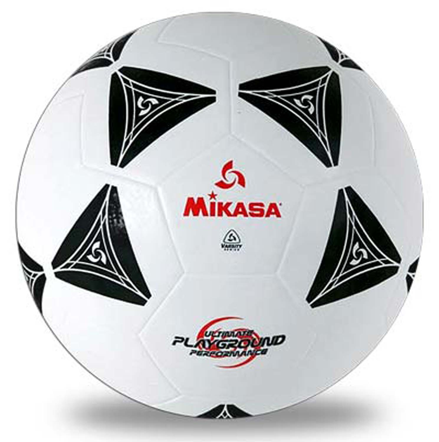 Mikasa S3000 Black And White Rubber Soccer Ball Size 5 - 49098 - Soccer Balls Rubber 49098