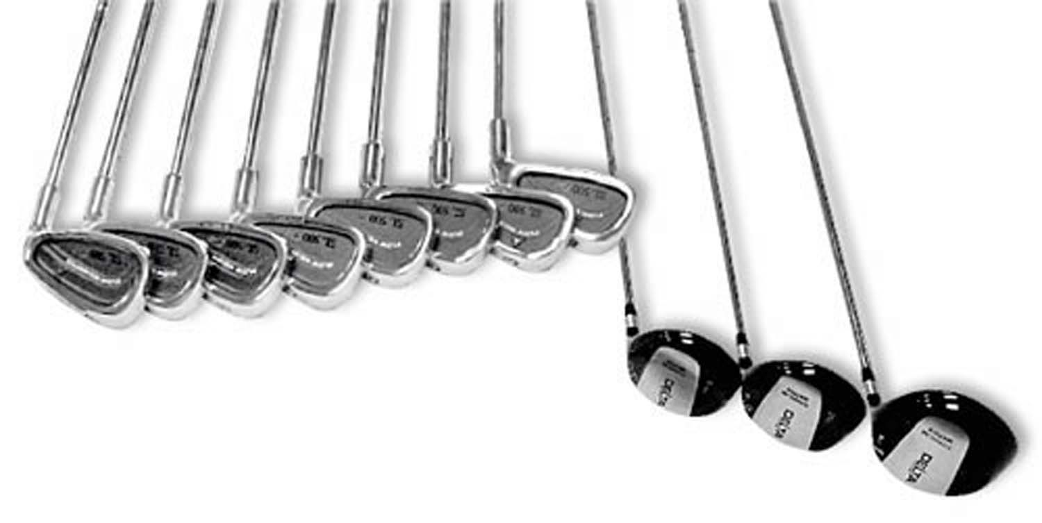 Women's Right-handed 11 Piece Golf Set - Set - 22003 - Golf Clubs 22003